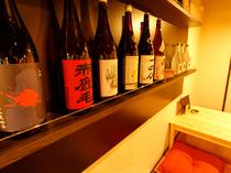 めったにお目にかかれないような珍しい日本酒もアリ