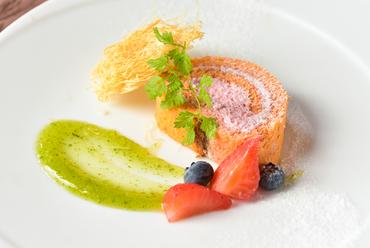野菜ソムリエ協会認定レストランならではの料理&スイーツが充実