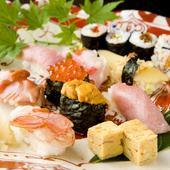 鮨を握って50年のベテラン職人が握る味の宝石箱『鮨』