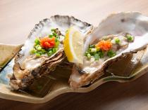 宮城県産のプリプリッとした食感がたまらない『生牡蠣』