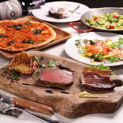 ★お肉食べ比べ燻製コース★■飲み放題2.5時間■最高の燻製マリアージュ楽しめます♪