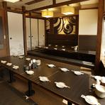 【最大50名】上野駅近で希少な宴会用お座敷個室