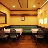 アットホームな雰囲気で、楽しい会食を満喫