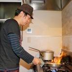 """""""素材の味を生かしたシンプルな料理""""で驚きと感動を与える"""