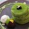 抹茶の薫り豊かに仕上げられた『抹茶KYOTO店オリジナルパンケーキ』