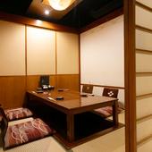 プライベートな場面で重宝する完全個室