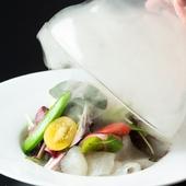 本場のふぐと有機野菜を使った新感覚の料理を満喫