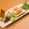串物と旬の野菜を使った贅沢コース料理を堪能