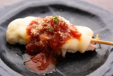 トマトの酸味とチーズの濃厚さが絡み合う『トマチーイタリアン』