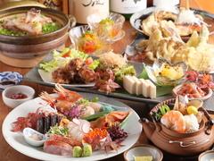 お二人様よりお受け致します。 その日一番オススメのお料理をお手軽に楽しんで頂けます。