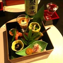 お酒を中心にお料理は軽く楽しみたい方におすすめ 京都らしいおつまみ色々を楽しんでいただけるプラン