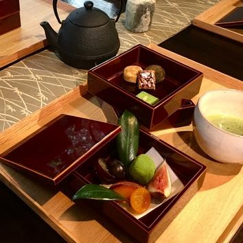(昼)満月の花膳と抹茶スイーツで京の食を満喫!!