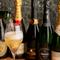 年代物のワインや、シャンパンなど各種ドリンクが充実