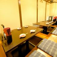 接待や商談などのビジネスシーンでの食事場所としてもふさわしい料理店。毎日仕入れる地元奈良の新鮮食材を、落ち着いた空間で味わえます。
