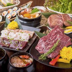 厳選食材を取り揃えた特選食べ放題コースをご用意!