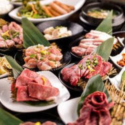 A5ランクの和牛を使用した焼肉や焼きしゃぶ、さらに今大ブームの肉寿司もA5ランクのお肉を使用しました。