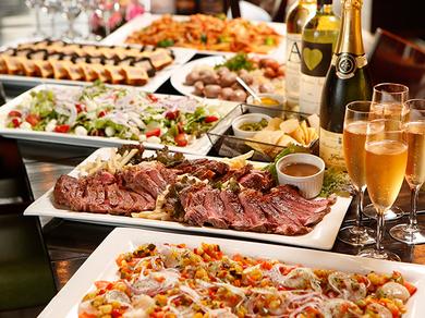 牛フィレ肉とフォアグラ、オマール海老など豪華食材 当日予約も可能のデート・誕生日・記念日コース!