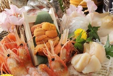 旬の鮮魚5点盛り~竹~