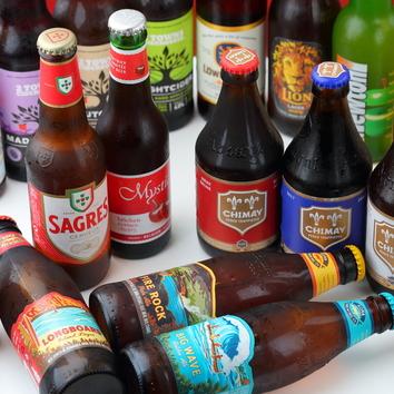 世界の瓶ビール&ソフトドリンク2時間飲み放題プラン【1500円】