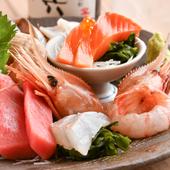 北海道の新鮮な海の幸を堪能できる『特選お刺身盛り7点』