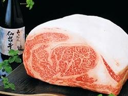 きめ細かい見事なサシが自慢の『A5ランクの仙台牛』。本物だけが醸し出す極上の美味を是非お確かめ下さい