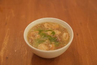 いつものもつ煮込みとはちょっと違う、あっさりスープの『イタリアンなもつ煮込み』