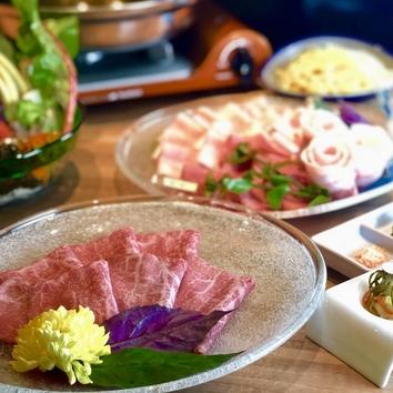 極上!【山城牛】【金武アグー】贅沢食べ比べコース