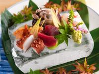 瀬戸内や和歌山をはじめとした、全国各地の海の幸を味わう『刺身盛り合せ』