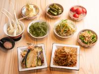 和食を中心とした多彩な『おばんざい 各種』