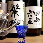 岐阜ではあまり飲むことができない、九州の日本酒を用意