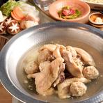 肉から魚まで、博多の味が勢ぞろいしたコース内容