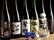 岐阜ではなかなか手に入らない九州各地の日本酒が取り揃えられています。どれも料理との相性が良いものばかり。グランドメニュー以外にも、季節に合わせたものやおすすめの銘酒なども用意されています。