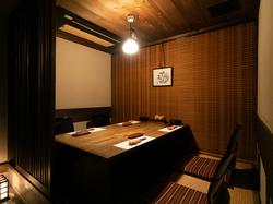 プライベート空間の個室でご宴会をお楽しみいただけます。