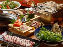 食材からこだわった、東北の美味が勢揃い!