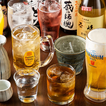[2H飲み放題]単品飲み放題 1500円(税込)