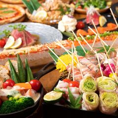 当店の美味しいものが集まったLa Resortコース♪ご宴会・飲み会・女子会・歓迎会・送別会に!