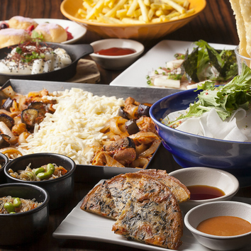 【2時間宴会】◆チーズタッカルビコース◆9品+飲み放題