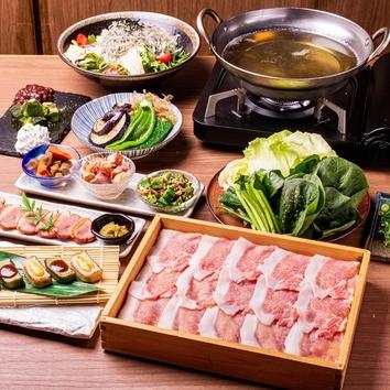 京甚兵衛宴会コース<2時間飲放付>3500円(税込)