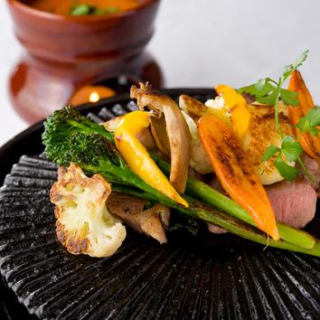 ◇季節の食材を使用したシェフのスペシャリテコース 5500円