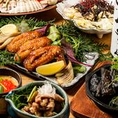 季節の食材やハイレベルな肉に合わせた美酒をラインナップ