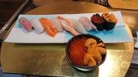 お好きなネタのミニ丼付(1つお選びください)マグロ・甘エビ・ウニ・イクラ・サーモン
