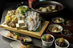 ◆クーポン必須◆11,000円→10,000円!希少性の高さから高級魚と称される天然の「のどぐろ」を贅沢に潮鍋で