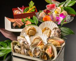 ◆クーポン必須◆6000円→5000円!120分飲み放題付!三種の貝の磯鍋~蛤・つぶ・なんとあわびまで!