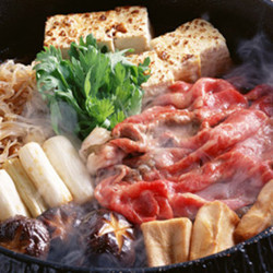 ◆クーポン必須◆8500円→7500円!北海道が誇る銘柄牛「富良野和牛」に味噌、葱、春菊を絡めて。
