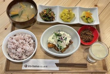 iro-hana定食