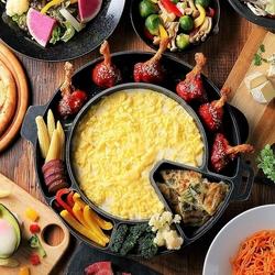 チーズタッカルビかたっぷりチーズを旨辛チキンとからめて楽しむグンネチキン 男性も+500円利用可能!