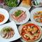 新鮮な食材は地物を主に、さらにイタリア産食材も豊富に使用