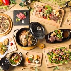 +500円で炙り和牛寿司も付けれます!ガリシア州産栗豚のローストポークなど秋の味覚を楽しめます!