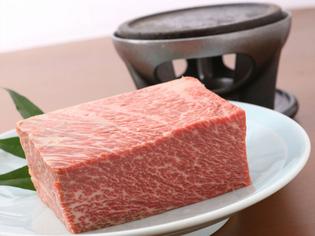 富山県産食材にこだわり厳選した「氷見牛」や「飛騨牛」が美味