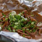 松イカの肝焼き